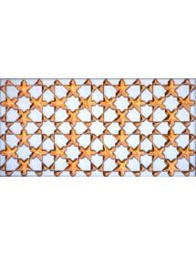 Arabian relief copper tiles MZ-010-19