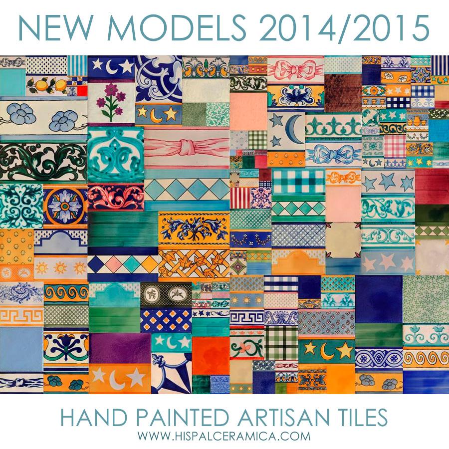 Nueva colecci n de azulejos pintados a manos artesanales for Azulejos on line