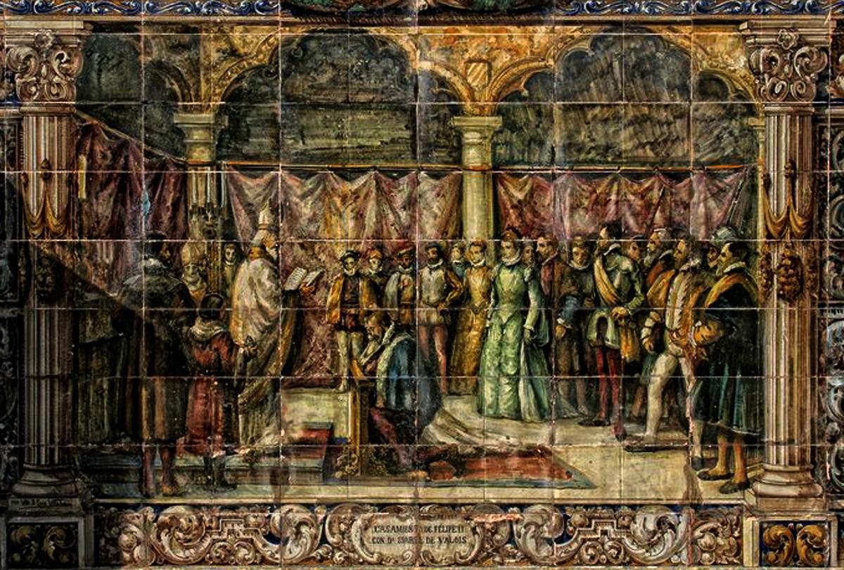 Bancos de cer mica y escudos de la plaza de espa a de for El mural aviso de ocasion guadalajara