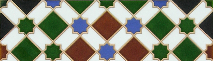 Arabian colour tiles