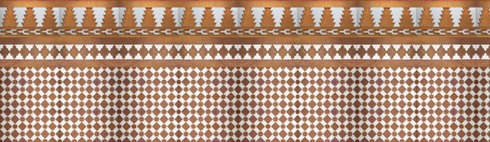 Mosaicos Árabes cobre